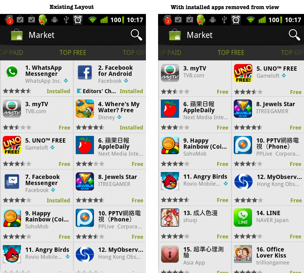 download market app for android phone
